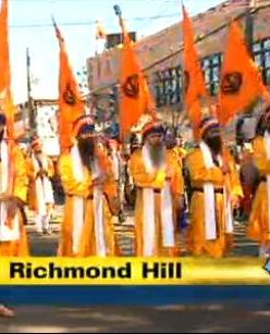 Sikh parade in Queens, NY