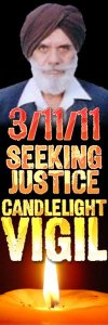 Candlelight Vigil on March 11, 2011 from 6-7 PM at East Stockton Boulevard and Geneva Pointe Drive