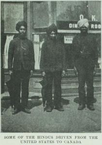 """Some of the Hindus driven from the United States to Canada"", from ""The Hindu of the Northwest"" (1907) - http://saadigitalarchive.org/item/20110714-238"