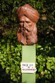 Sculpture of Sikh by Peter Bulow (credit: Dr. Peter Bulow)