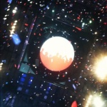 Confetti drop at DNC