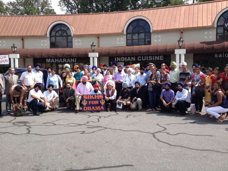 Sikh Delegation at DNC