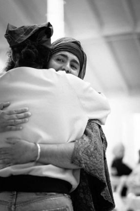 Have you hugged a Sikh today? (Photo: Karaminder Ghuman)
