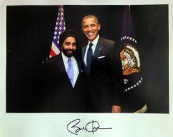 Amardeep Singh with President Barack Obama