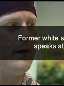"""""""Former white supremacist speaks at Sikh event"""" (source: Fox6Now)"""