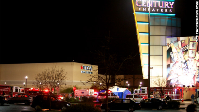 """Emergency vehicles gather outside the Clackamas Town Center mall after a gunman opened fire, killing two people on Tuesday, December 11, in Clackamas, Oregon. The shooter died on the scene from a self-inflicted gunshot, said Lt. James Rhodes of the Clackamas County Sheriff's Office."" (source: CNN)"