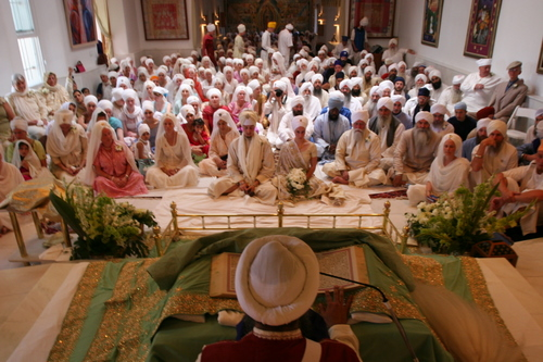 Sikh wedding ceremony (source: MrSikhNet)