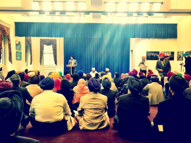 On Friday, December 7, 2012, the White House held a ceremony to commemorate the birth anniversary of Guru Nanak. (source: Gautam Raghavan)