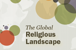 Pew Forum Global Religious Landscape cover image (source: Pew forum)