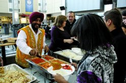"""Local Sikh brings India to students."" (source: The Davis Clipper)"