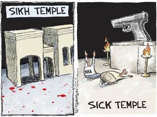 Sikh temple vs. Sick temple