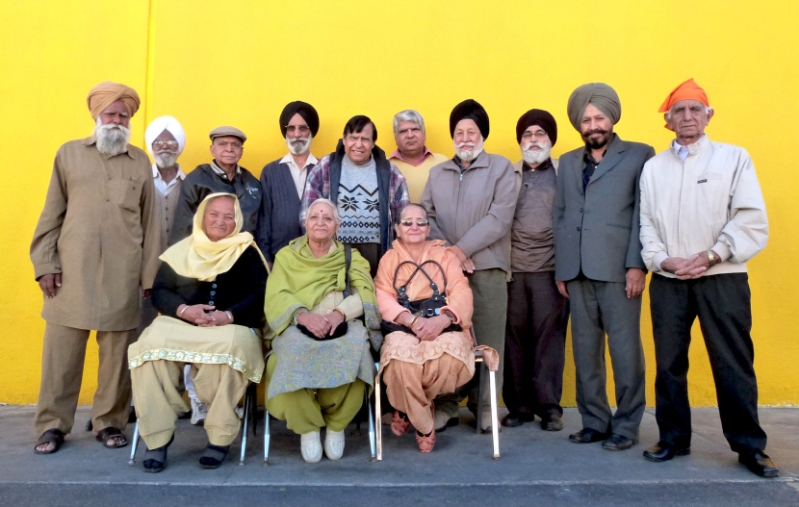 Members of the Sikh Gurdwara of Los Angeles oral history project (source: Sikh American Stories)