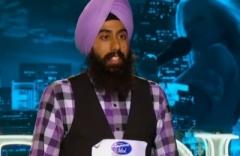 American Idol Season 12 contestant Gurpreet Singh Sarin. (source: Vancouver Desi)