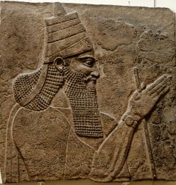 Tiglath-Pileser III, king of Assyria in the 8th century. (source: Wikipedia)