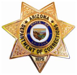 Arizona Department of Corrections badge (source: wikipedia)