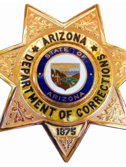 Arizona Department of Corrections badge (source: wikipedia)