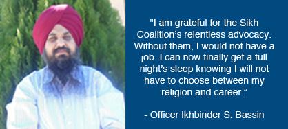 Ikhbinder Singh Bassin (source: Sikh Coalition)