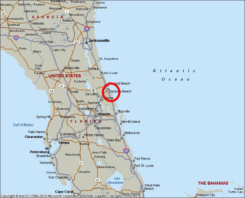 Orange Beach Florida Map