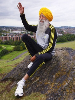 Fauja Singh, 101 years old, is retiring from competitive marathons after this weekend. (source: ESPN)