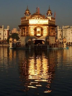 """The Golden Temple During the Day."" (Adam Perez 