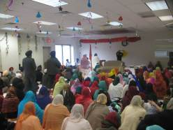 Akhand path service at the Gurdwara of Delaware. (source: Gurdwara of Delaware)