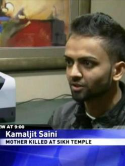 Kamaljit Saini, son of Oak Creek shooting victim Paramjit Kaur, is waiting for the FBI to release its full report into the attack. (source: Fox 6 Now)