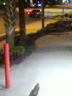 Port Orange Police have released surveillance footage of the suspect pickup truck involved in the February 23 drive-by shooting of Kanwaljit Singh (source: Daytona Beach News-Journal)