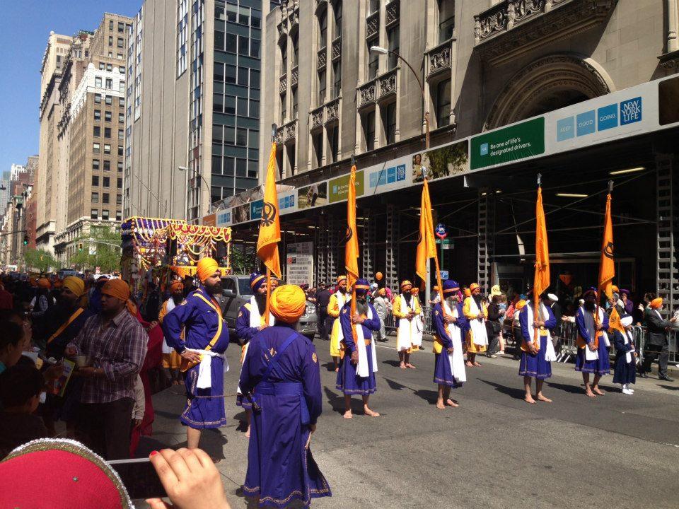 26th Annual New York Sikh Parade, April 27, 2013. (source: unp.me)