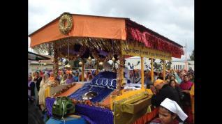Annual Vaisakhi Parade in Lynden, Washintgon. (source: Manjit Dhaliwal | Bellingham Herald)