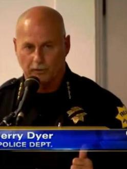 Fresno PD Chief Jerry Dyer. (source: ABC30)