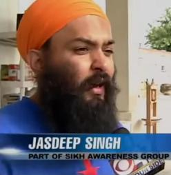 Jasdeep Singh of Jakara Movement Misl Fresno discusses community engagement projects to help prevent future hate crime attacks in the community. (Source: YouTube)