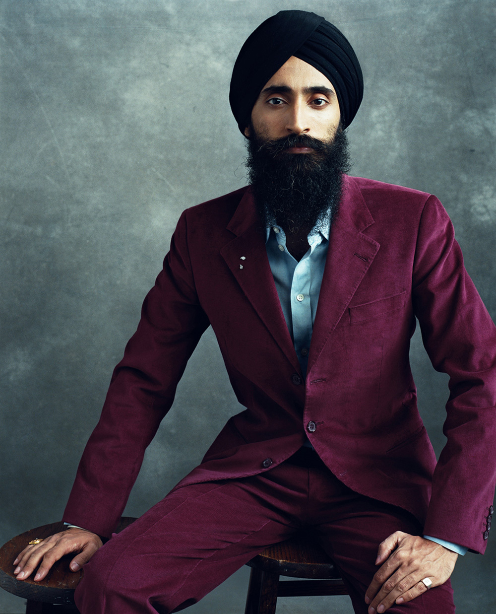 Canadian sikh man photoshopped celebrity