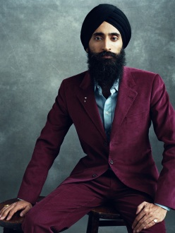 """Waris Ahluwalia, 2011. Photo by Norman Jean Roy."" (Source: Flavorwire)"