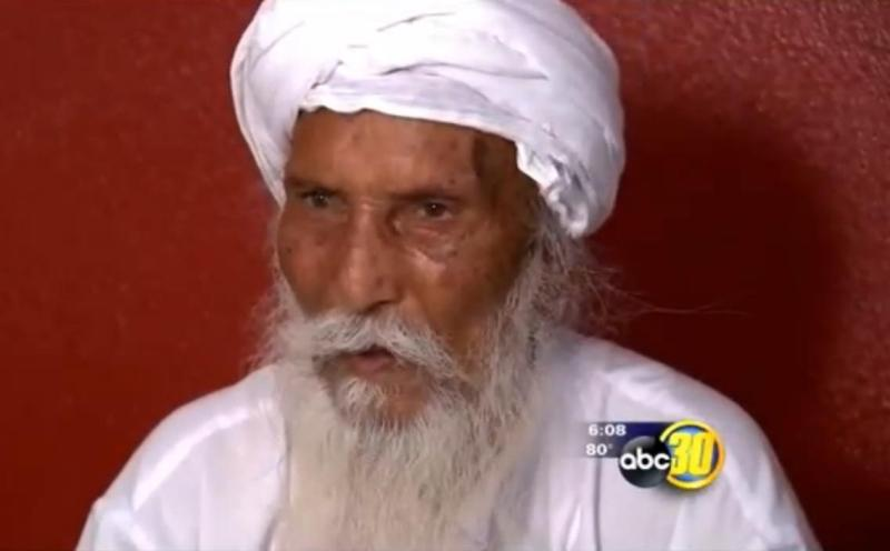 Piara Singh speaks to local media about being attacked on May 5 in Fresno, California. (Source: KFSN/ABC30)