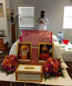 Gurdwara in Rogers, Arkansas. (source: UALR Public Radio)