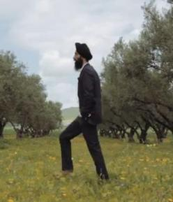 "New York fashion designer and actor Waris Ahluwalia in ""Waris Ahluwalia's Long Road."" (source: YouTube)"
