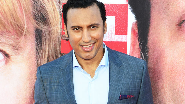 Aasif Mandvi is an Indian-American actor-comedian who co-stars in The Internship, where, yes, he has an Indian accent. (Photo credit: FREDERIC J. BROWN/AFP/Getty Images)