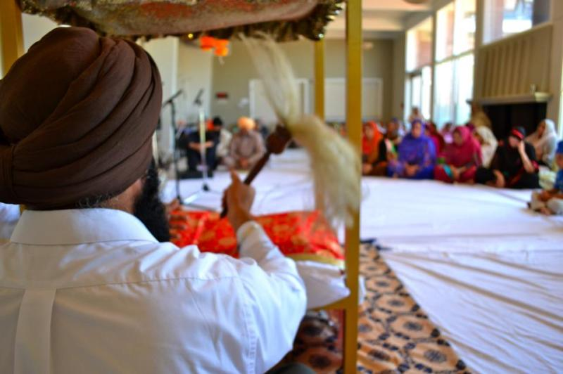 A service by The Sikh Gurdwara of San Francisco in August 2012. (Source: The Sikh Gurdwara of San Francisco Facebook page)