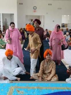 Johnston, Iowa, Dastar Bandi ceremony. (Source: Des Moines Register)