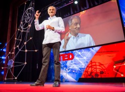 Pico Iyer at TED Global 2013. (Source: TED Blog)