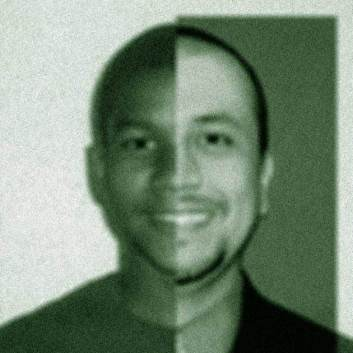 Split image of Trayvon Martin and George Zimmerman. (Source: Keene Trial Consulting)