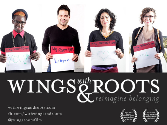 """Telling the stories of children of immigrants in New York and Berlin who challenge boundaries and reimagine belonging."" (Source: with WINGS and ROOTS Kickstarter page)"