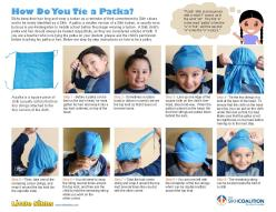 """How Do You Tie A Patka?"" brochure from Little Sikhs and the Sikh Coalition. (Source: Sikh Coalition)"