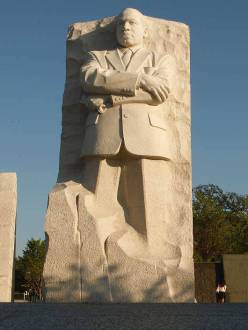 Martin Luther King, Jr., National Memorial in Washington, D.C. (Source: About.com)