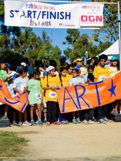 2nd Annual Sikh Coalition 5K for the 5Ks Run. (Credit: Karaminder Ghuman. Source: Sikh Coalition)