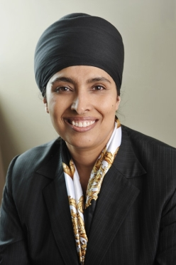 Palbinder Kaur Shergill, General Legal Counsel of the World Sikh Organization. (Source: IntLawGrrls)