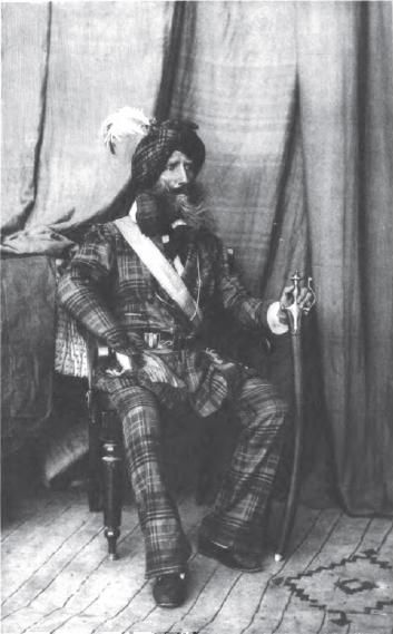 Alexander Haughton Campbell Gardner (1785-1877), originally from Wisconsin, served as a colonel in Maharaja Ranjit Singh's army from 1831-1849. He was one of three Americans to serve the Sikh empire. (Source: Wikipedia)