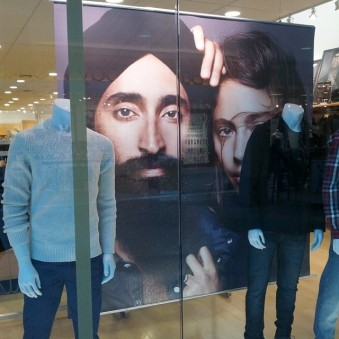 Poster of Waris Ahluwalia, via @JugniStyle.