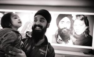 Poster of Waris Ahluwalia, via @SimranColumbia.