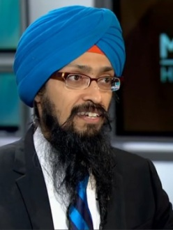 Vishavjit Singh, of SikhToons.com, speaks to MSNBC's Melissa Harris-Perry about being the Sikh Captain America. (Source: MSNBC)